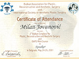 Surgeon's diploma – Balkans Congress in Belgrade and ISAPS mini course for aesthetic surgery
