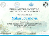 Surgeon's diploma – International course for aesthetic surgery